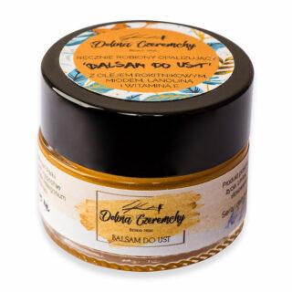 Dolina Czeremchy, Opalizujący rokitnikowy balsam do ust, 15 ml (2)