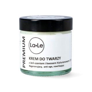 La-Le, krem żeń-szeń z kwasem hialuronowym, 60 ml (1)