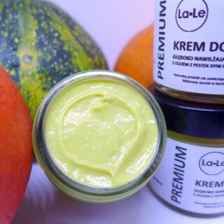 La-Le, krem do twarzy dyniowy – głęboko nawilżający z olejem z pestek dyni, 60 ml (2)