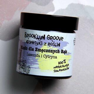 Brooklyn Groove, Masło dla Zmęczonych Rąk, 60 ml (2)