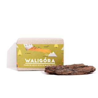 Mydlarnia Cztery Szpaki, WALIGÓRA – mydło do włosów i brody, 110 g (1)