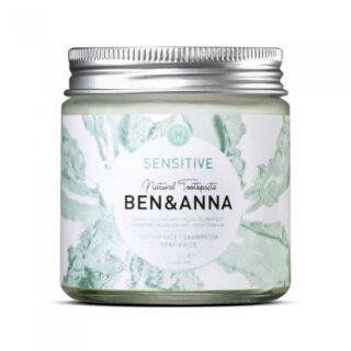 Ben&Anna naturalna pasta do wrażliwych zębów z rokitnikiem, rumiankiem i aloesem, SENSITIVE, ZERO WASTE, 100 ml (1)