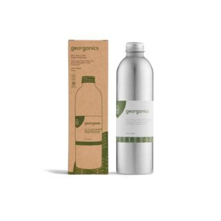 Georganics, olejek do płukania jamy ustnej, DRZEWO HERBACIANE, naturalny, bez fluoru, 250 ml (1)