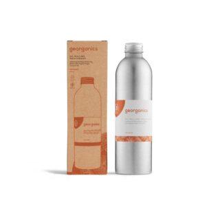 Georganics, olejek do płukania jamy ustnej, odpowiedni dla dzieci, POMARAŃCZE, naturalny, bez fluoru, 250 ml (1)