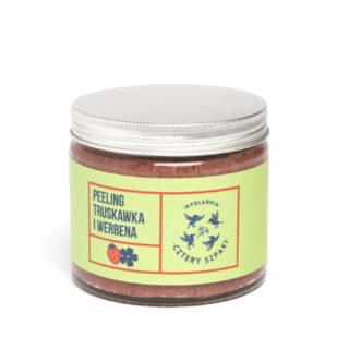 Mydlarnia Cztery Szpaki, PEELING TRUSKAWKA I WERBENA, 250 ml (2)