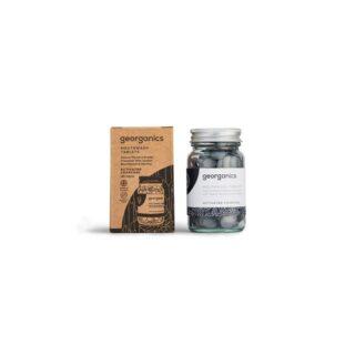 Georganics, tabletki do płukania jamy ustnej, WĘGIEL AKTYWNY, naturalne, 180 tabletek (2)