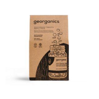 Georganics, tabletki do płukania jamy ustnej, WĘGIEL AKTYWNY, naturalne, UZUPEŁNIENIE, 720 tabletek (1)