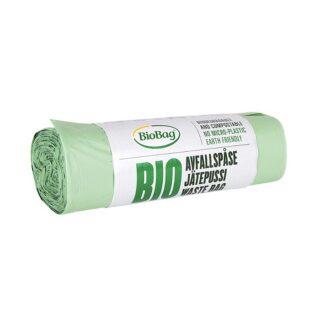 BioBag, worki na odpady organiczne i zmieszane, w 100% biodegradowalne i kompostowalne, 35l, rolka 20 sztuk (1)