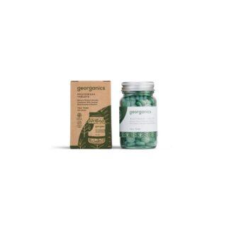Georganics, tabletki do płukania jamy ustnej, DRZEWO HERBACIANE, odpowiednie dla dzieci, naturalne, 180 tabletek (2)