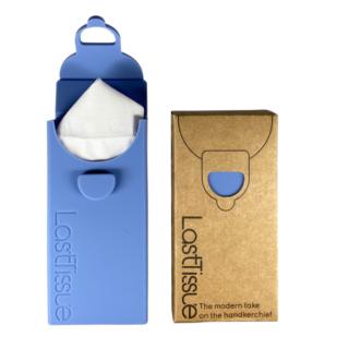 LastObject, wielorazowe chusteczki z bawełny organicznej 6 szt. – LastTissue – w niebieskim etui (2)