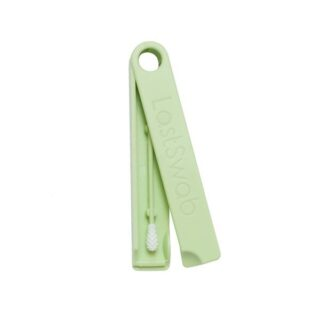 LastObject, wielorazowy patyczek higieniczny – LastSwab Basic – zielony – żółw zielony (1)