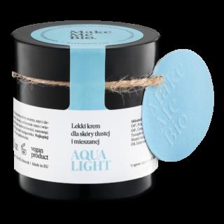 Make Me Bio, Aqua Light – Lekki Krem dla Skóry Tłustej i Mieszanej, 60 ml