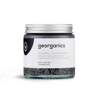 Ekologiczna pasta do zębów Georganics, WĘGIEL AKTYWNY, naturalna, mineralna, 120 ml (1)