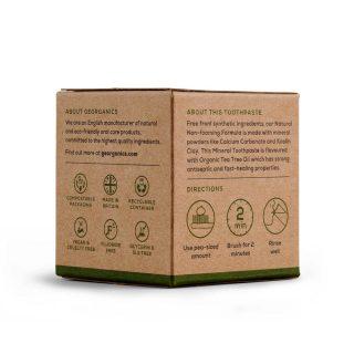 Georganics naturalna pasta do zębów, DRZEWO HERBACIANE, naturalna, mineralna, 120 ml (2)