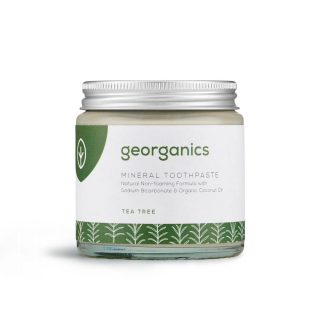 Georganics naturalna pasta do zębów, DRZEWO HERBACIANE, naturalna, mineralna, 120 ml (1)