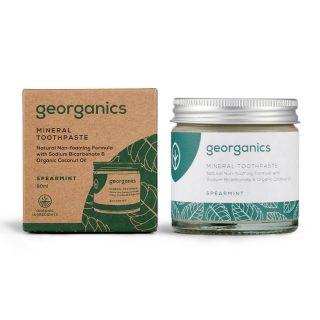 Naturalna pasta do zębów Georganics, ZIELONA MIĘTA, naturalna, mineralna, 60 ml (2)