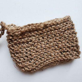 Kieszonka na mydło ze sznurka konopnego (1)