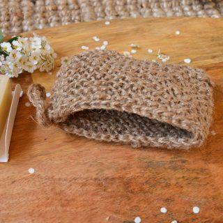 Kieszonka na mydło ze sznurka konopnego (3)