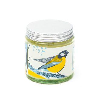 Mydlarnia Cztery Szpaki, Bogatka – naturalna świeca sojowa, kwiatowa, 100 g (2)