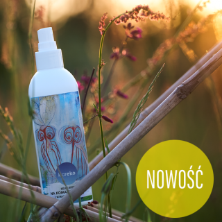 Klareko, naturalny środek na komary i kleszcze, spray 250 ml