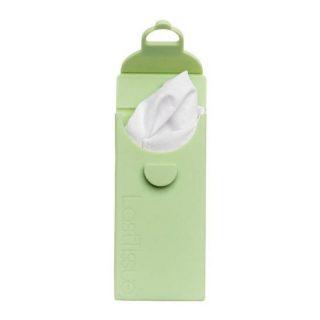 LastObject, wielorazowe chusteczki z bawełny organicznej 6 szt. – LastTissue – w zielonym etui (1)