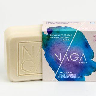 NAGA, emulsja w kostce do higieny intymnej, 50 g (1)